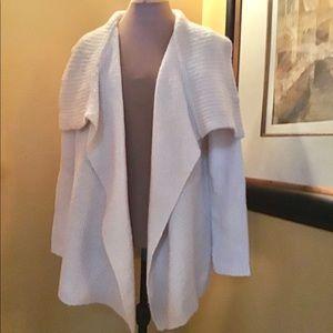 Ann Taylor Loft Wool and Alpaca Blend Wrap Sweater